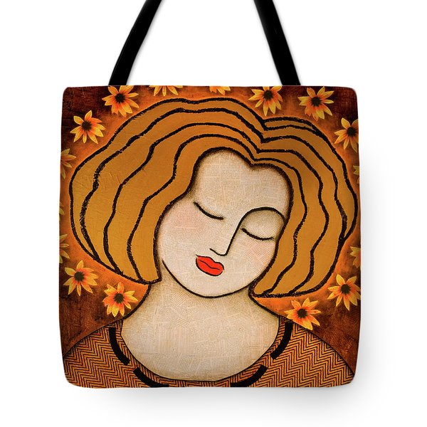 Flowering Intuition Tote Bag