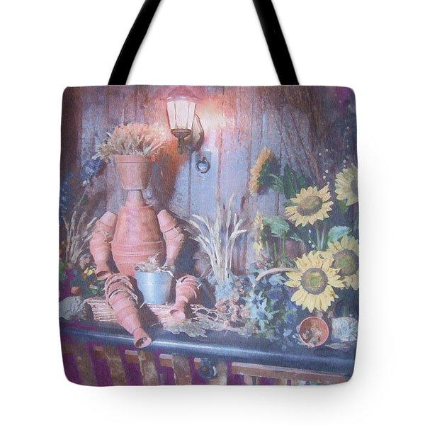 Flowerpotman Tote Bag