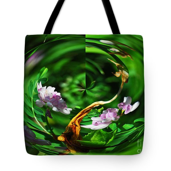 Flowers Gone Wild Tote Bag by Cindy Manero