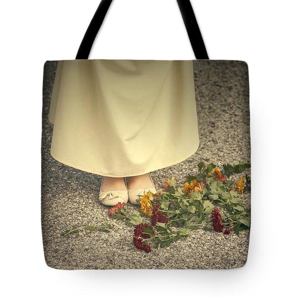 Flowers On The Street Tote Bag by Joana Kruse