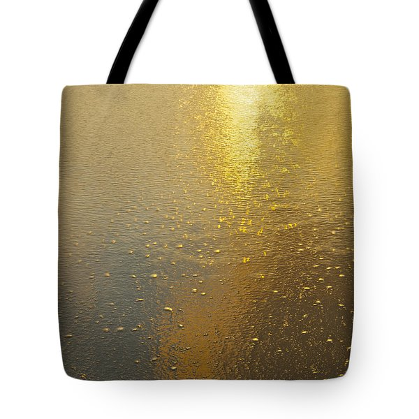 Flowing Gold 7646 Tote Bag by Michael Peychich