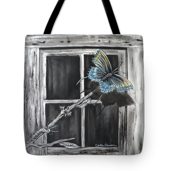 Fly Away Free Tote Bag by Carla Carson