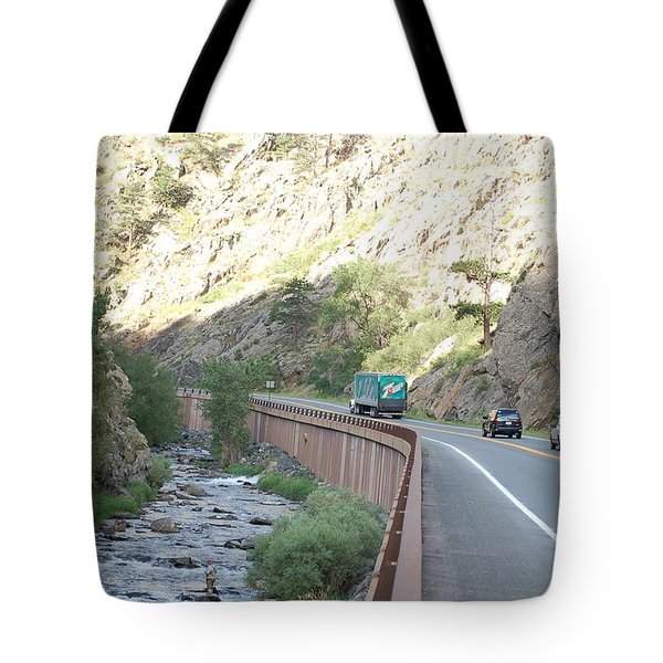 Fly Fishing In Colorado Tote Bag by Randy J Heath