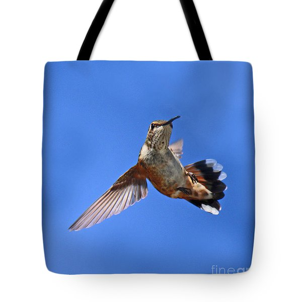 Flying Backwards - No Problem Tote Bag