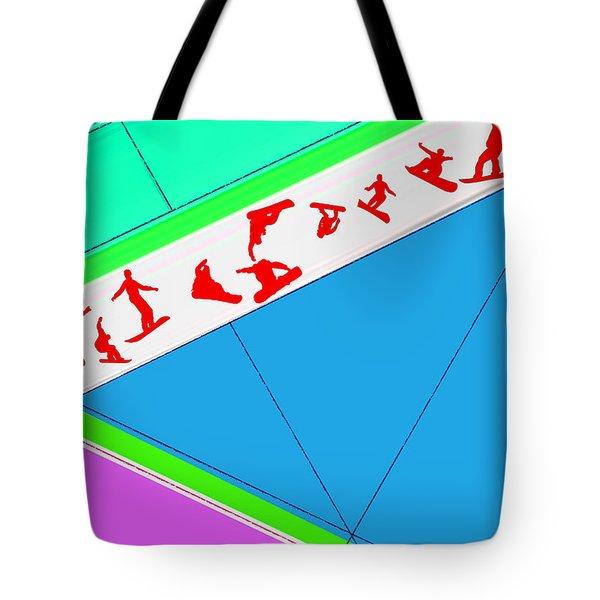Flying Boards Tote Bag