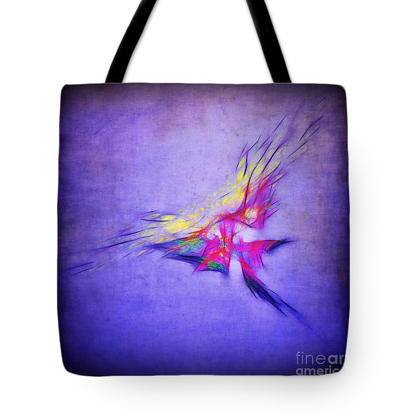 Flying Into The Sun Tote Bag by Judi Bagwell