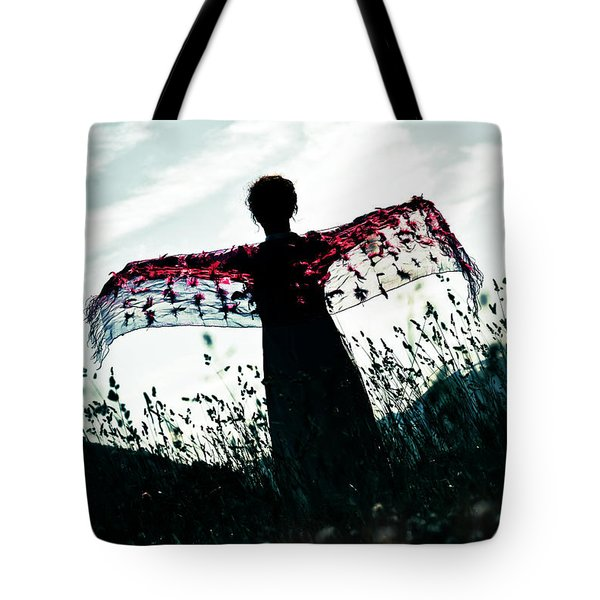 Flying Tote Bag by Joana Kruse