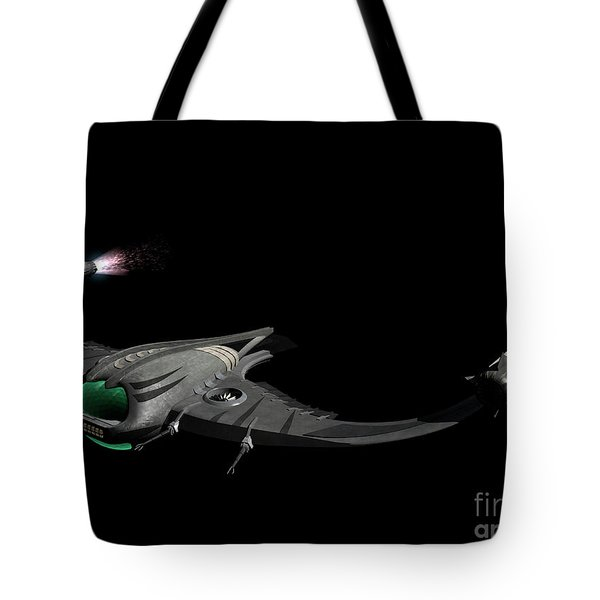 Flying Machine Inspired By The Martians Tote Bag by Rhys Taylor
