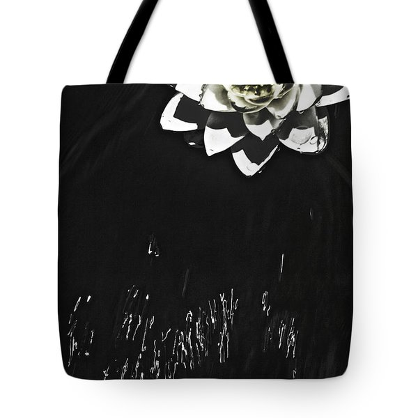 Flying Water Lily Tote Bag