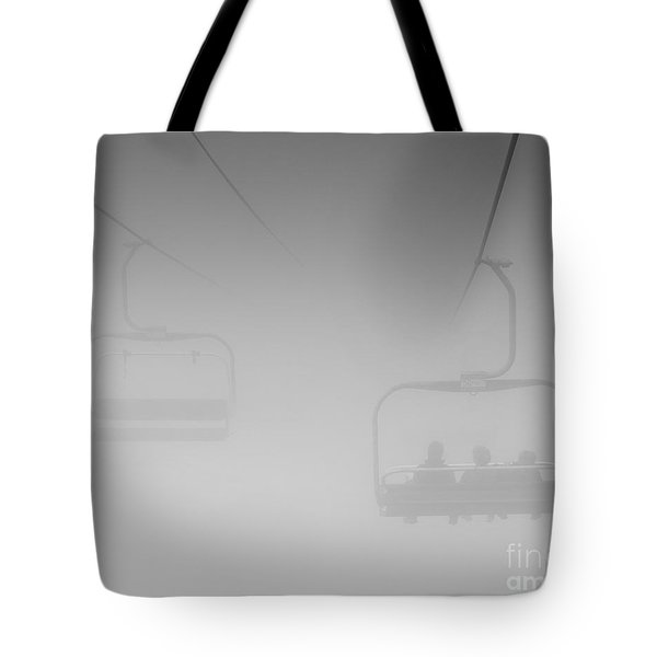 Fog Tote Bag by Eunice Gibb