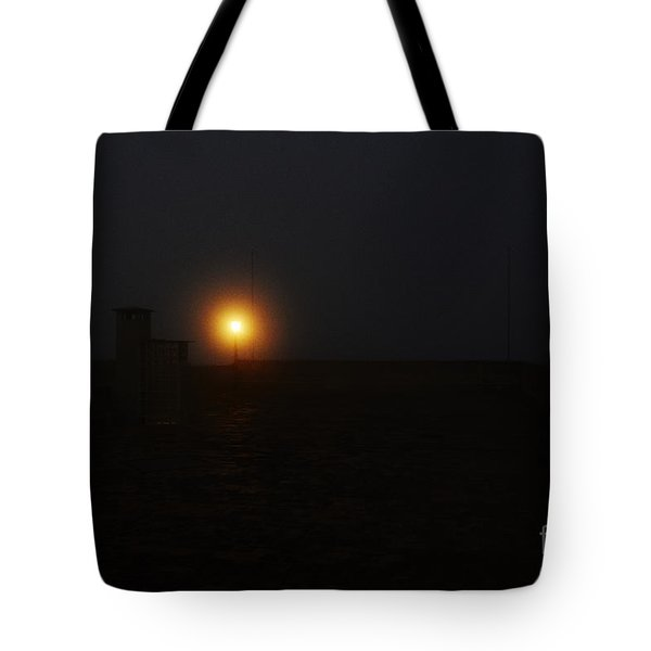 Fog In San Salvador Tote Bag