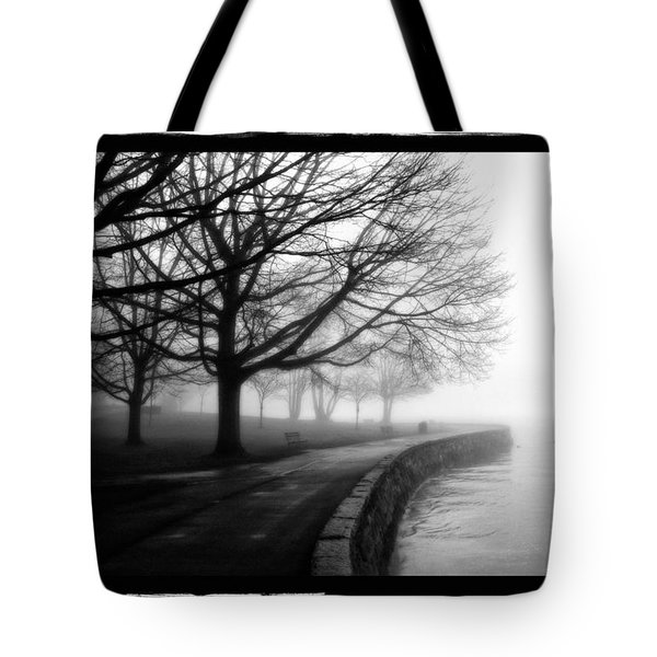 Foggy Day H-1 Tote Bag by Mauro Celotti