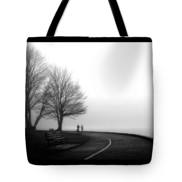 Foggy Day H-2 Tote Bag by Mauro Celotti