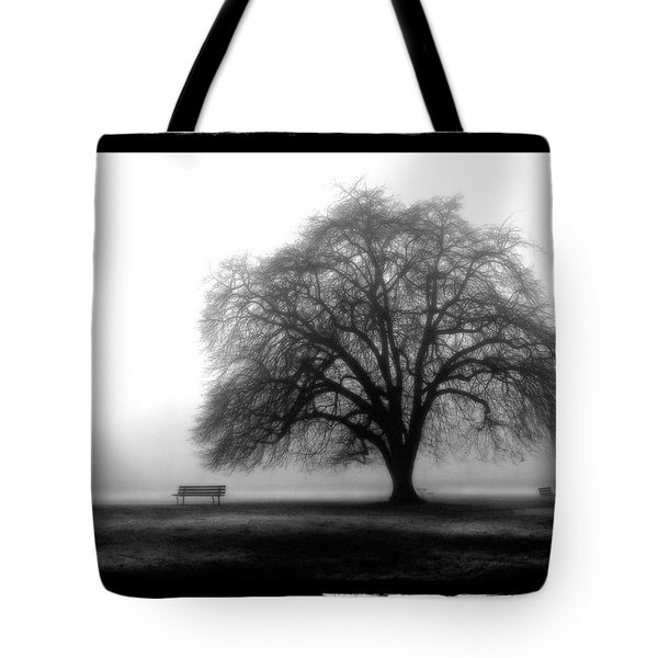 Foggy Day H-4 Tote Bag by Mauro Celotti