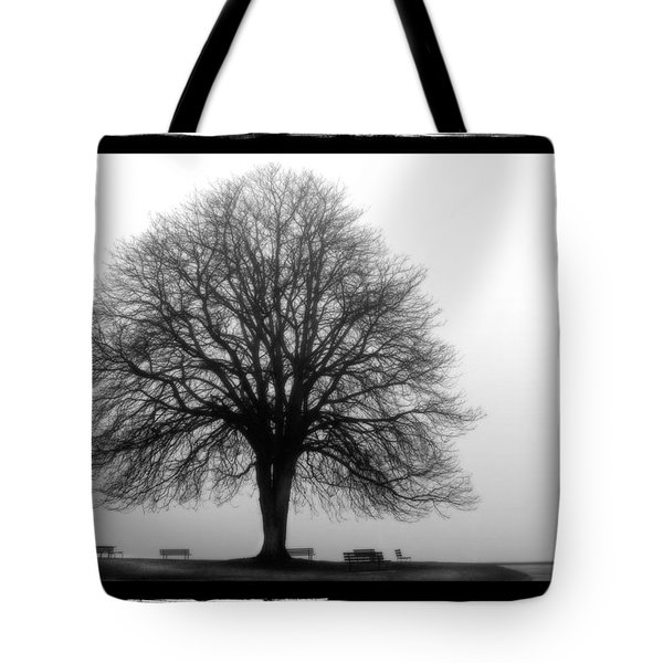 Foggy Day H-5 Tote Bag by Mauro Celotti