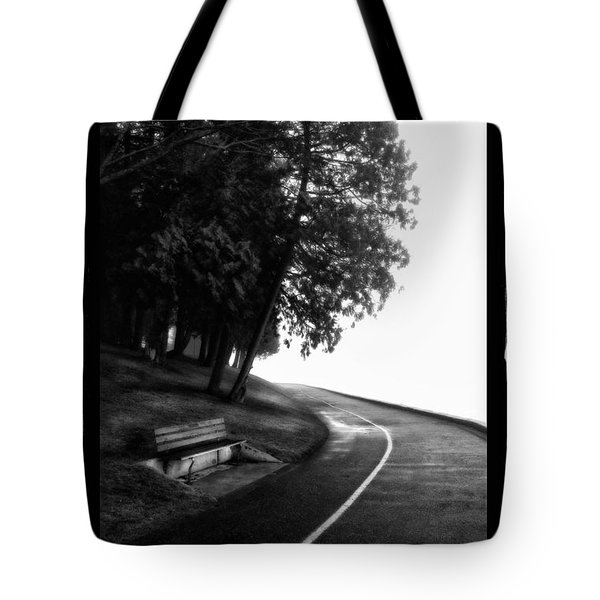 Foggy Day V-4 Tote Bag by Mauro Celotti