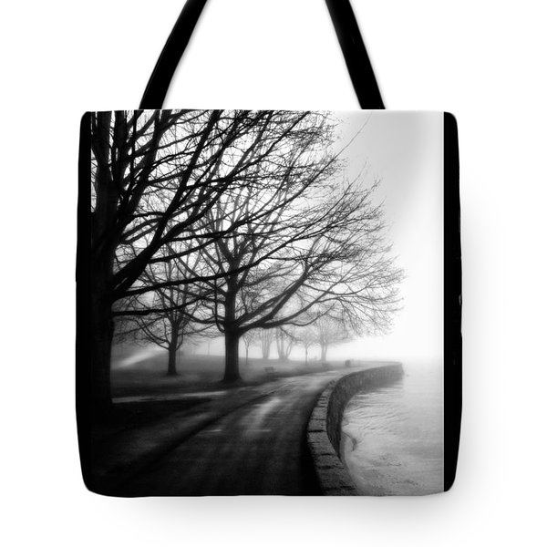 Foggy Day V-5 Tote Bag by Mauro Celotti