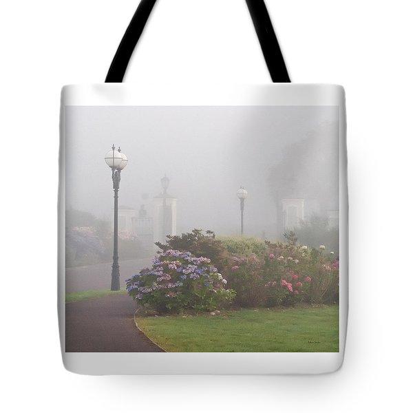 Foggy Morn Tote Bag