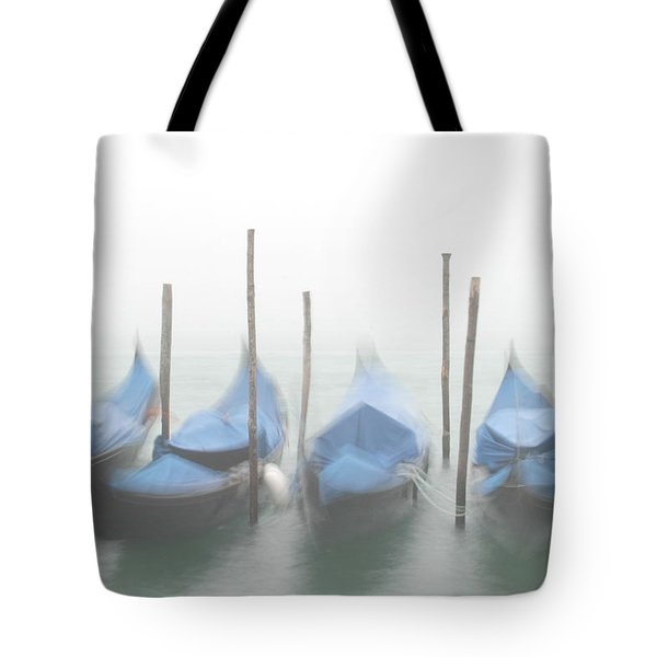 Foggy Morning Grand Canal Tote Bag