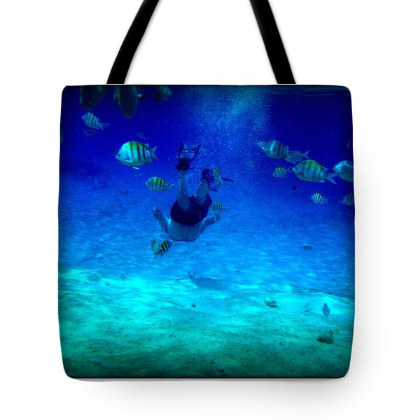 Tote Bag featuring the photograph Follow Me  by Danielle  Parent