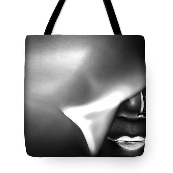 Tote Bag featuring the digital art Follow Your Heart by Holly Ethan
