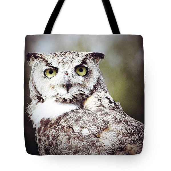 Followed Owl Tote Bag by Empty Wall