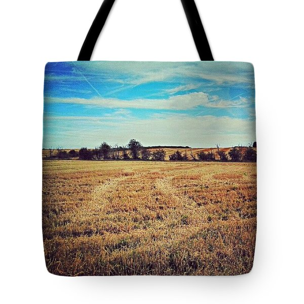 Following The Tracks Tote Bag