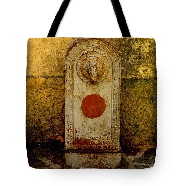 Fontaine D'eau Tote Bag by Lainie Wrightson