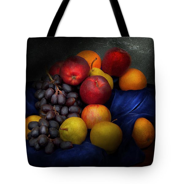 Food - Fruit - Fruit Still Life  Tote Bag by Mike Savad