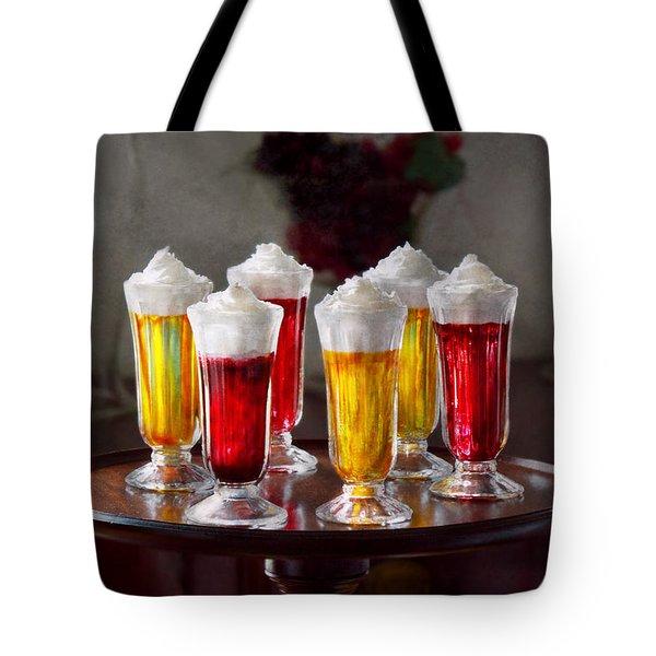 Food - Sweet - Let's Parfait All Night  Tote Bag by Mike Savad