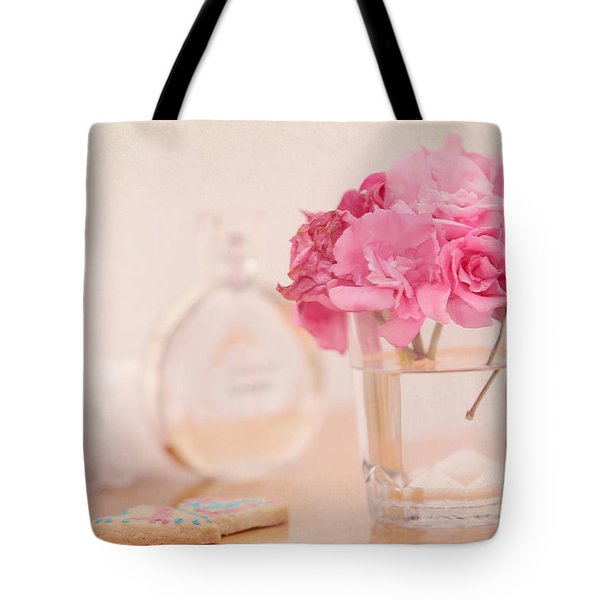 For Her Tote Bag by Jenny Rainbow