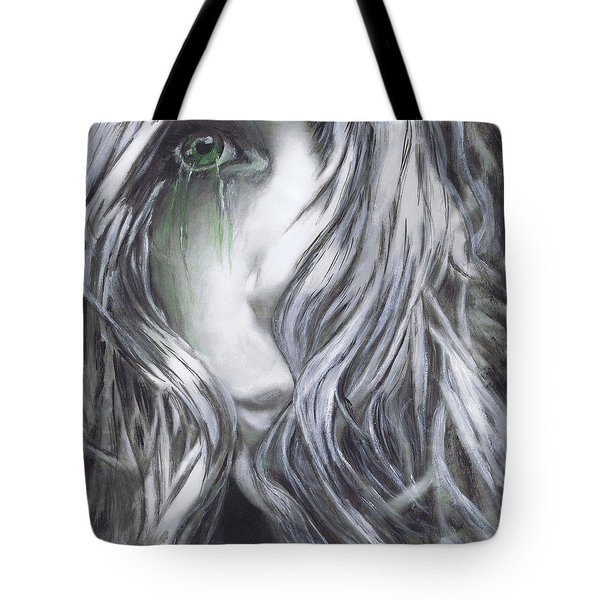 Forced  To See Tote Bag by Renee Catherine Wittmann