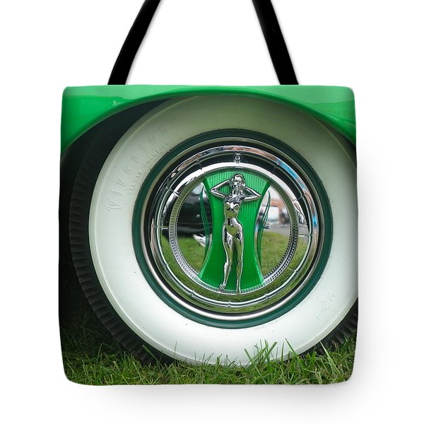 Tote Bag featuring the photograph Ford 1946 by Anna Ruzsan