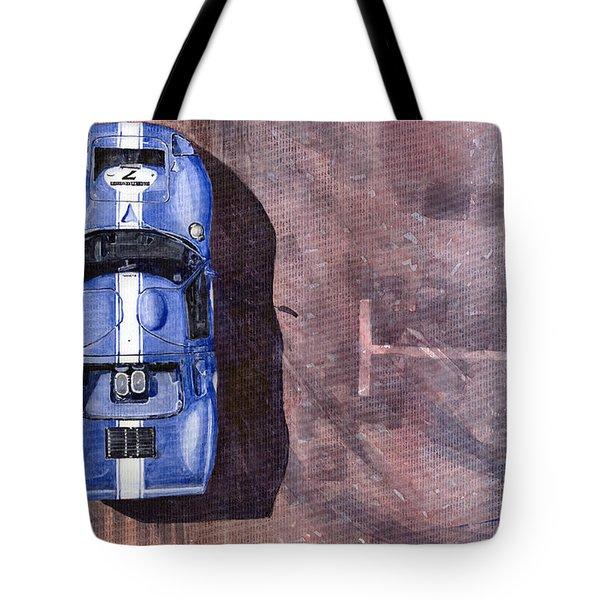 Ford Gt40 Leman Classic Tote Bag by Yuriy  Shevchuk