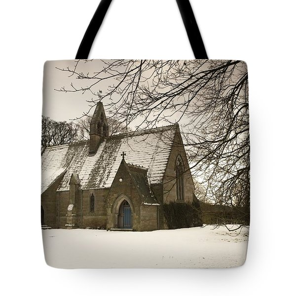 Ford, Northumberland, England Country Tote Bag by John Short