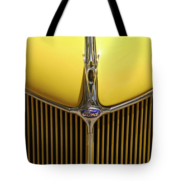 Ford V8 Tote Bag by Mike McGlothlen
