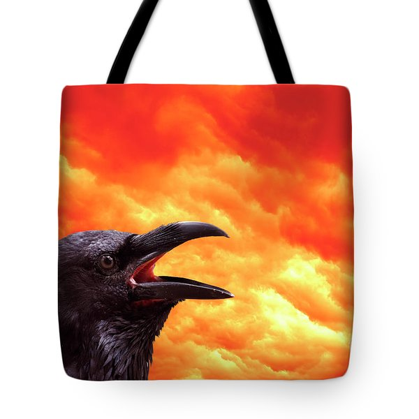 Foreboding Tote Bag by Michal Boubin