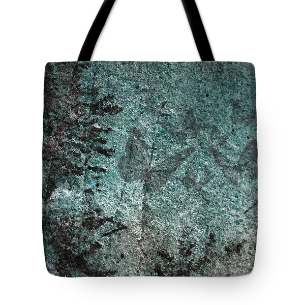 Forest Abstract Tote Bag by Eena Bo