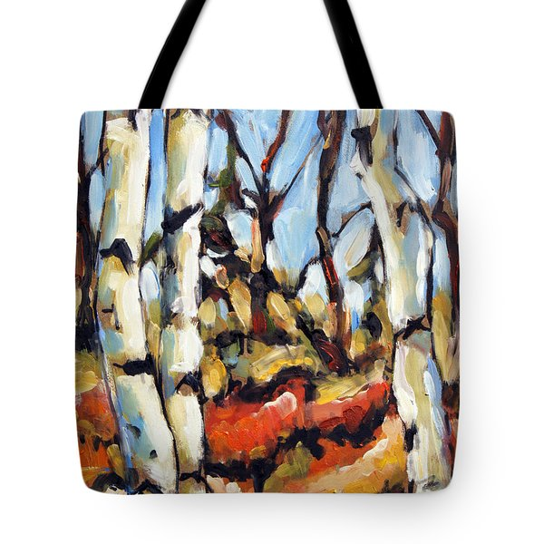 Forest Edge By Prankearts Tote Bag by Richard T Pranke