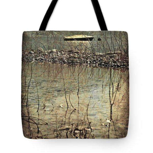 Forgotten Boat Tote Bag