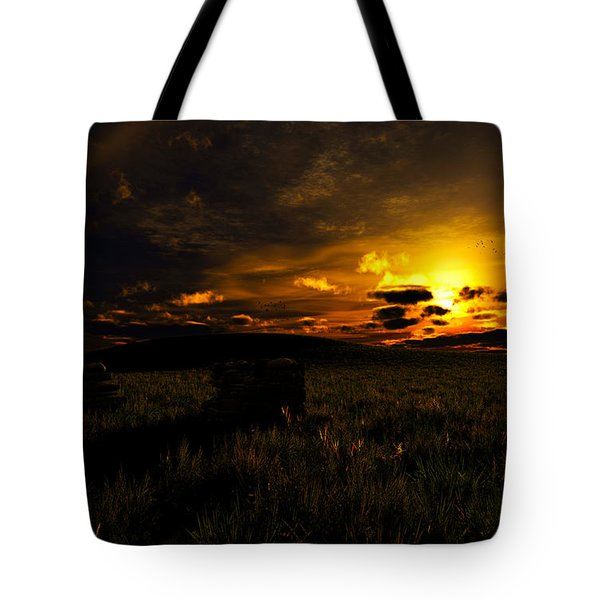 Forgotten Homestead... Tote Bag by Tim Fillingim