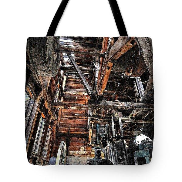 Forgotten Mill Tote Bag