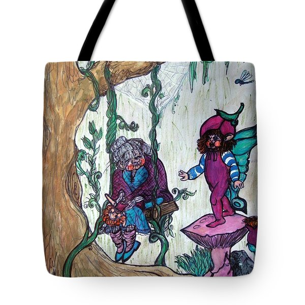 Forgotten Summer Tote Bag by Koral Garcia
