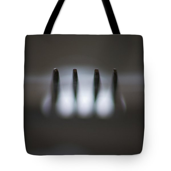 Fork Tote Bag by Stelios Kleanthous