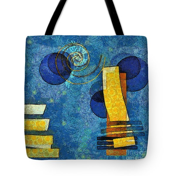 Formes - 09g Tote Bag by Variance Collections