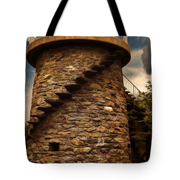 Fort Adams State Park Tote Bag by Lourry Legarde