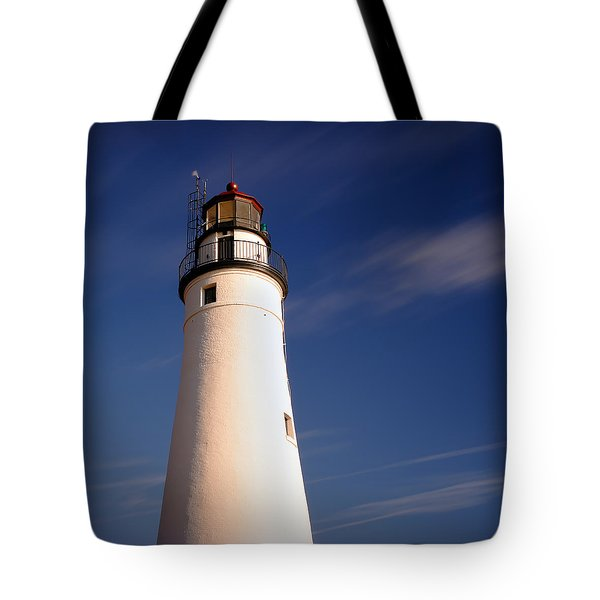 Tote Bag featuring the photograph Fort Gratiot Lighthouse by Gordon Dean II