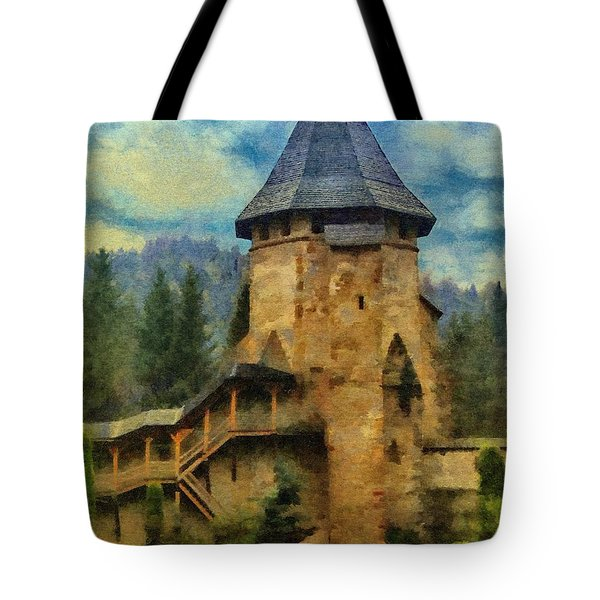 Fortified Faith Tote Bag by Jeff Kolker