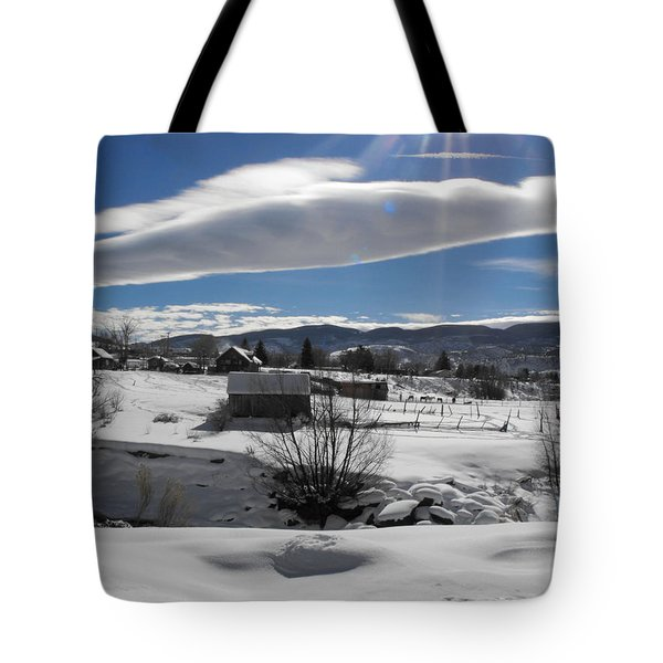 Fortress Of Solitude Tote Bag