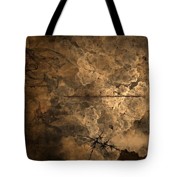 Fossilite Tote Bag by Christopher Gaston